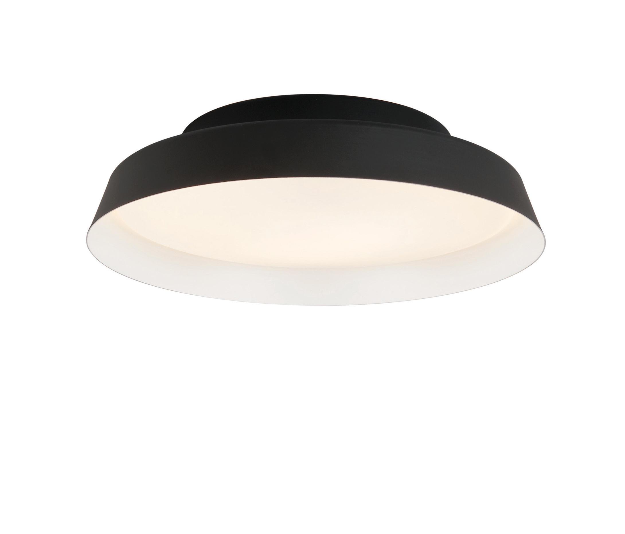 Boop Wall lamp/ceiling lamp ø37cm E27 2x22w Black/White
