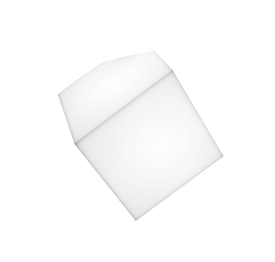 Edge Wand/Deckenleuchte 21 E27 20W TCT Diffusor in thermoplastischem Material: Weiβ