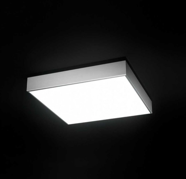 Box C70 ceiling lamp 4xG5 24w - Smoked Transparent