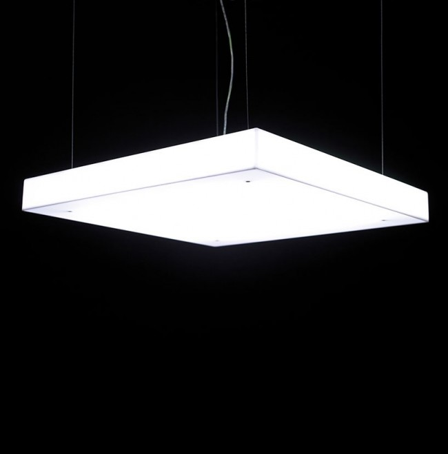 Box S70 Pendant Lamp 4xG5 24w - white opal