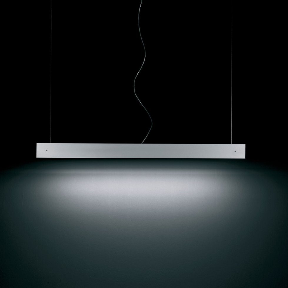 Marc S 160 Lámpara Colgante una luz Blanco satinado dimer