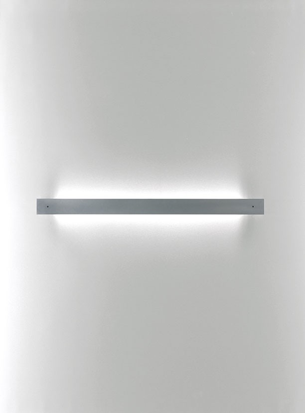 Marc W70 Wall lamp 1 Light G5 1x24w White satin dimmer