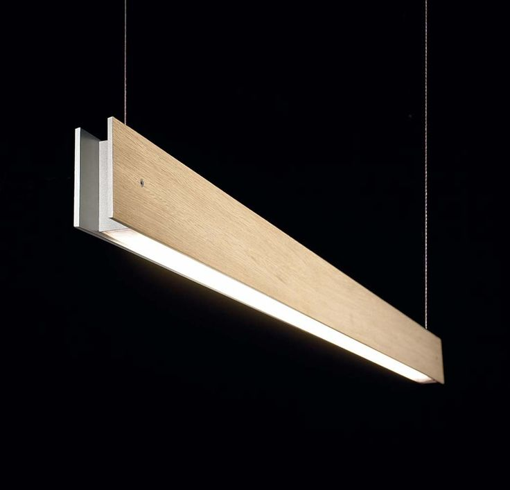 Marc W130 Wall lamp 2 Lights G5 2x54w Oak Wood