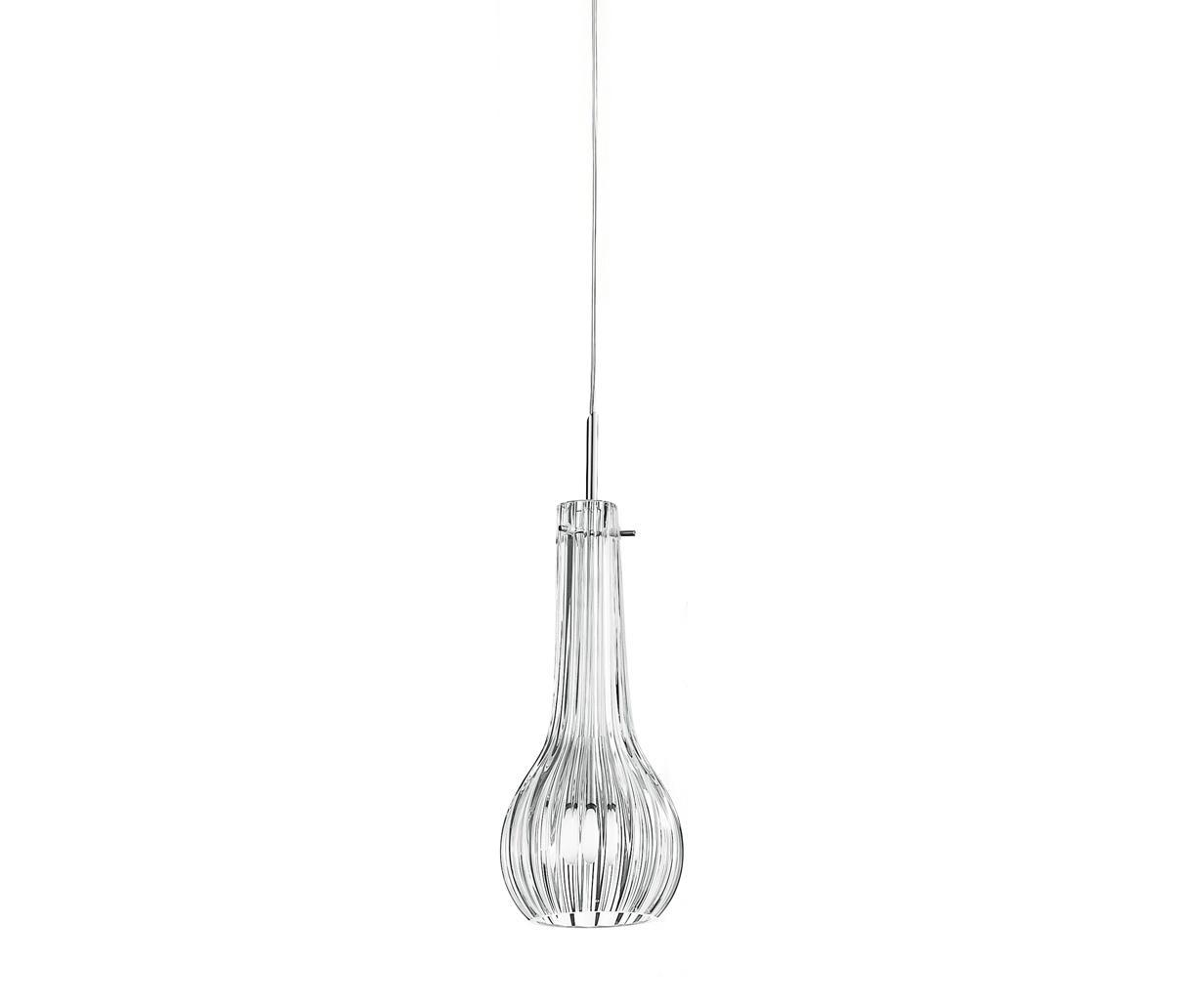 Athena S1 lamp Pendant Lamp E14 46W Chrome Glass