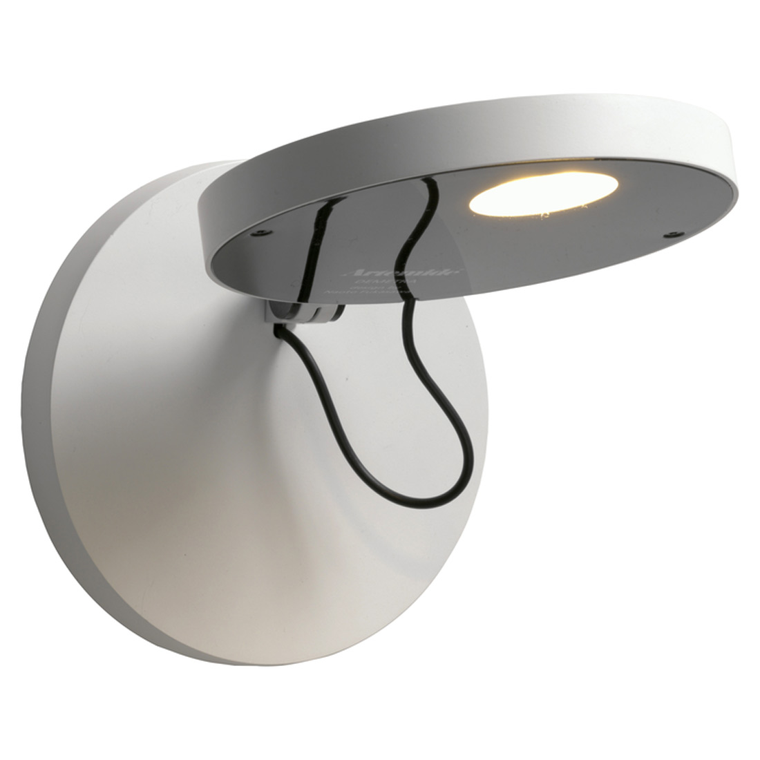 Demetra Faretto Wall Lamp without switch - Titanium