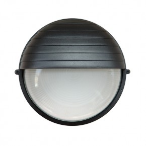 Treso circular Grande E27 Preto