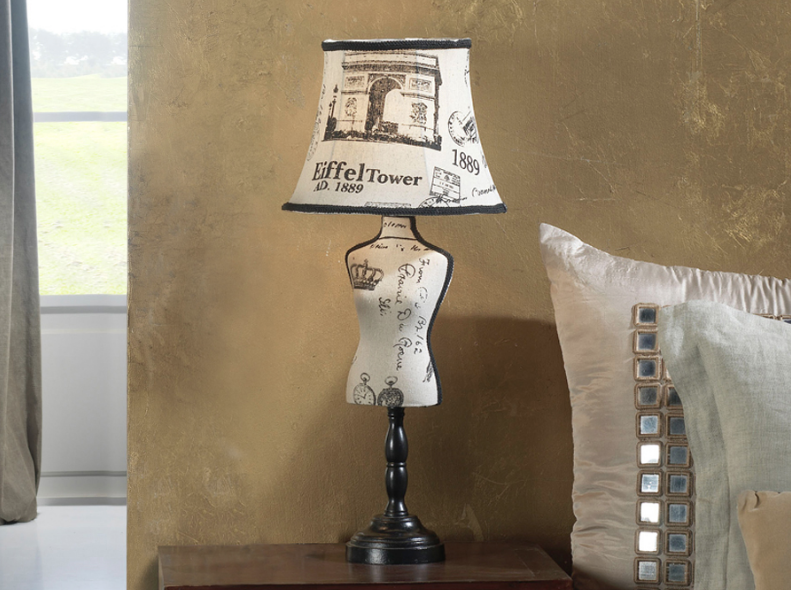 Vogue Table Lamp Large E27 20W Paris