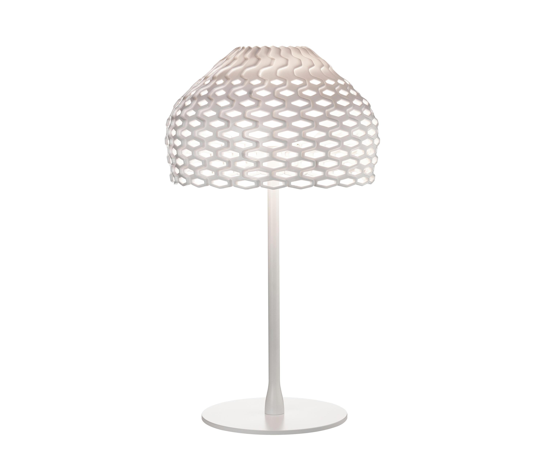 Tatou T1 lámpara de Sobremesa E27 70W FL/HL Blanco