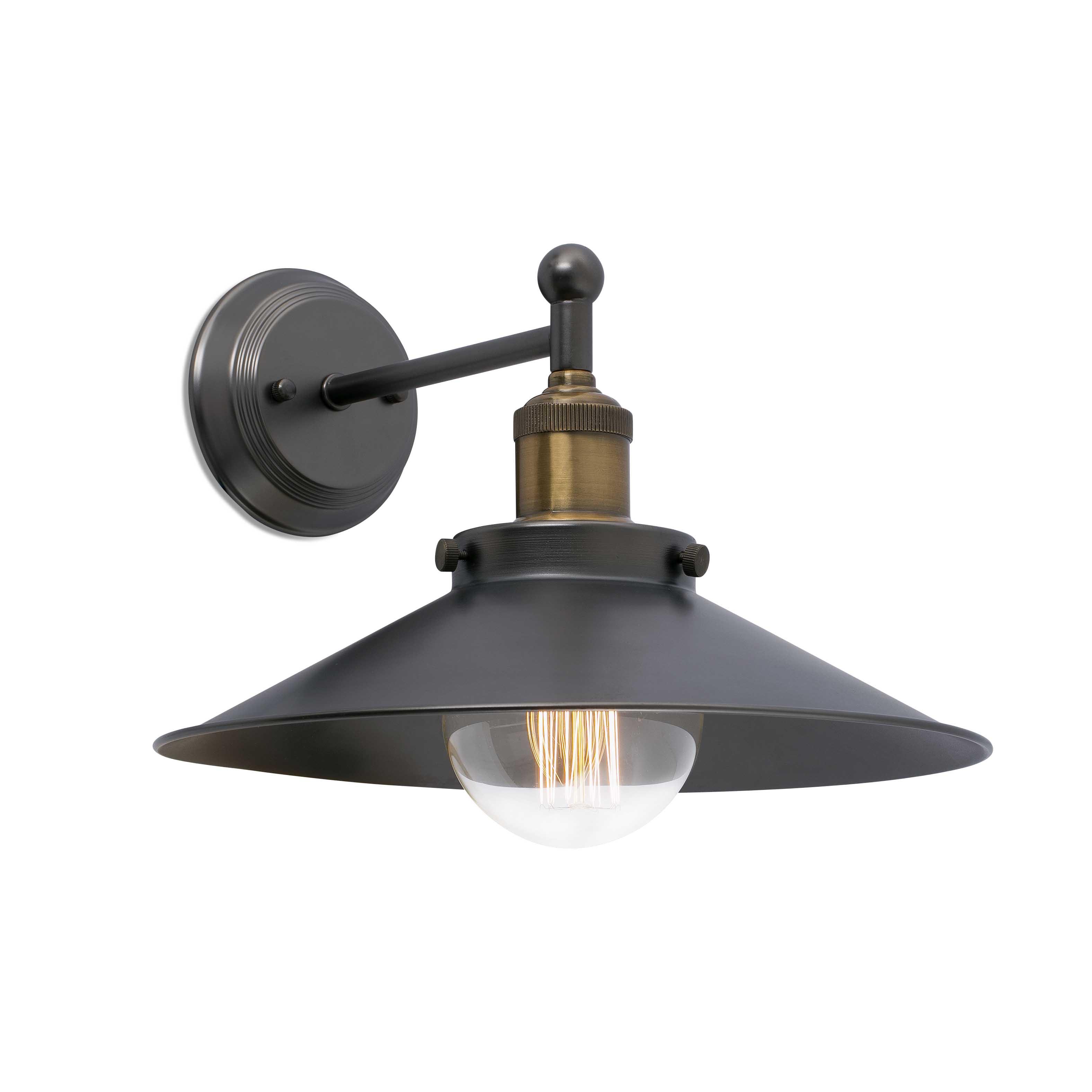 Marlin Wall Lamp E27 25w Black