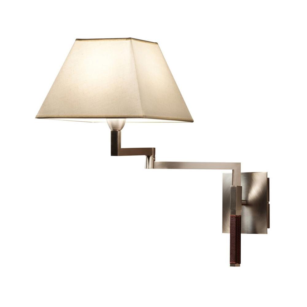 Carlota - G (Accessory) lampshade square 30cm Cinta translucent white