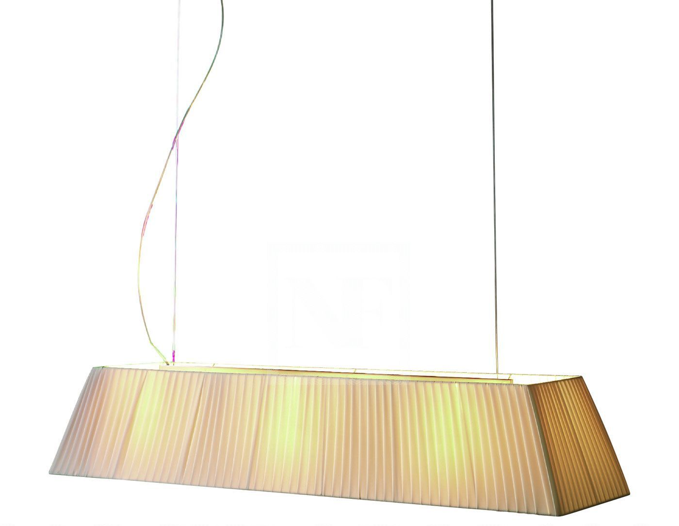Mei - 180 (Solo Estructura) Lámpara Colgante sin pantalla E27 11w Hierro negro