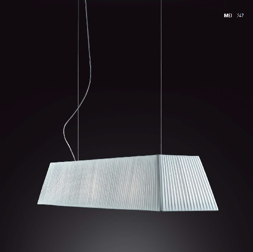 Mei - 180 (Solo Structure) Lamp Pendant Lamp without lampshade E27 11w Níquel Satin