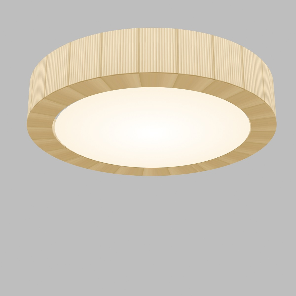 Urban - 60 ceiling lamp E27 46w Chrome-Cinta translucent Cream