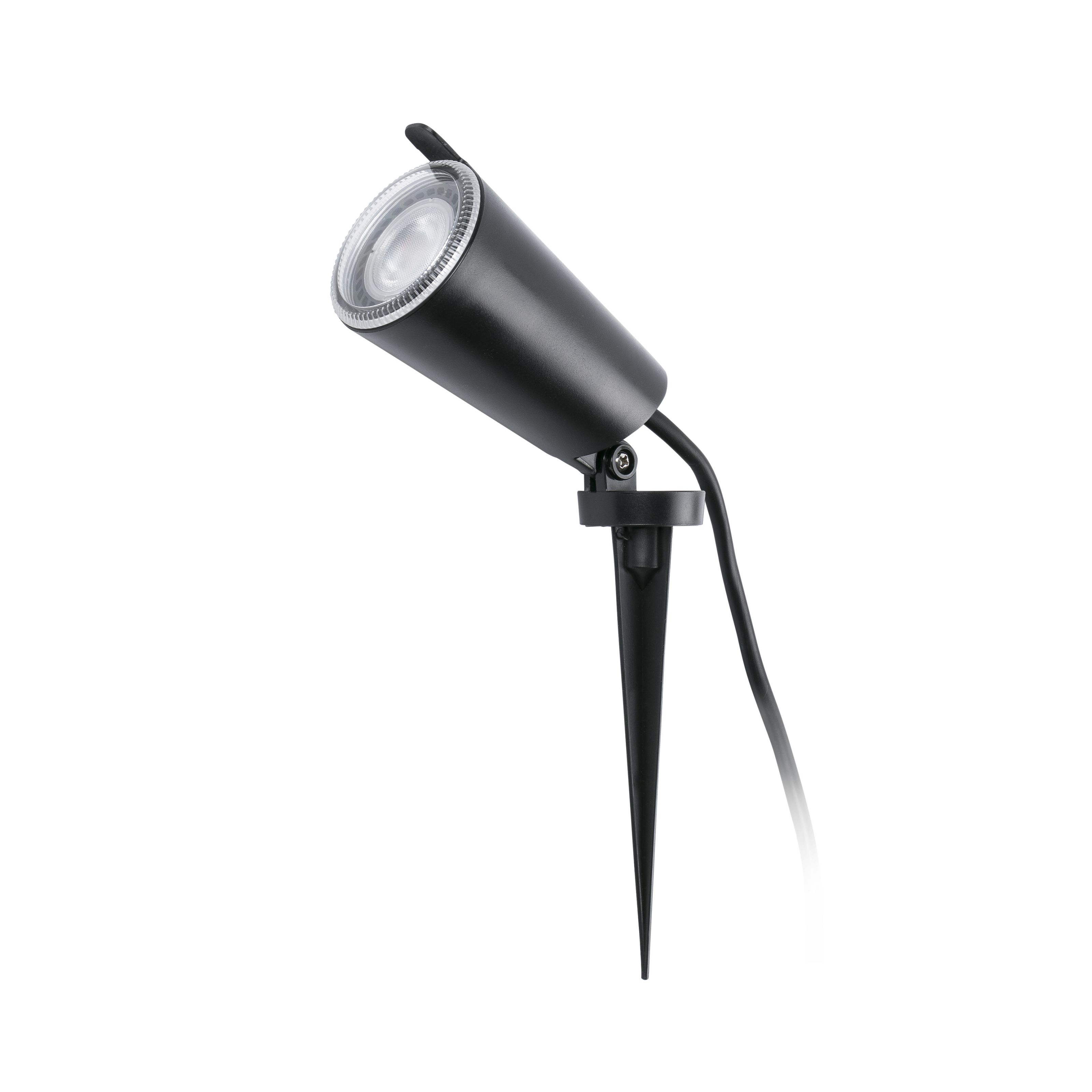 Toni Aplique/Estaca Exterior LED GU10 8W IP65 Negro