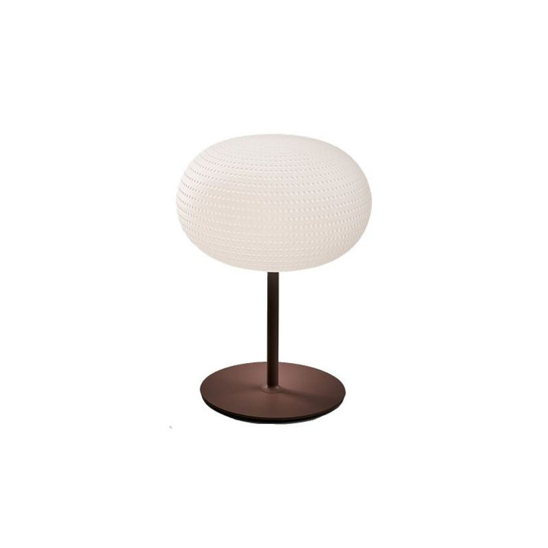 Bianca Table Lamp with Structure Large E27
