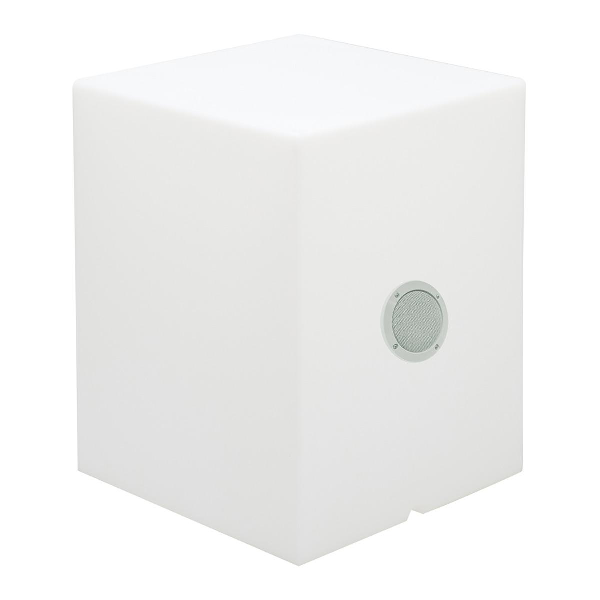 Cuby 55 Cubo iluminado Exterior play batería recargable LED RGB 43x43x53cm