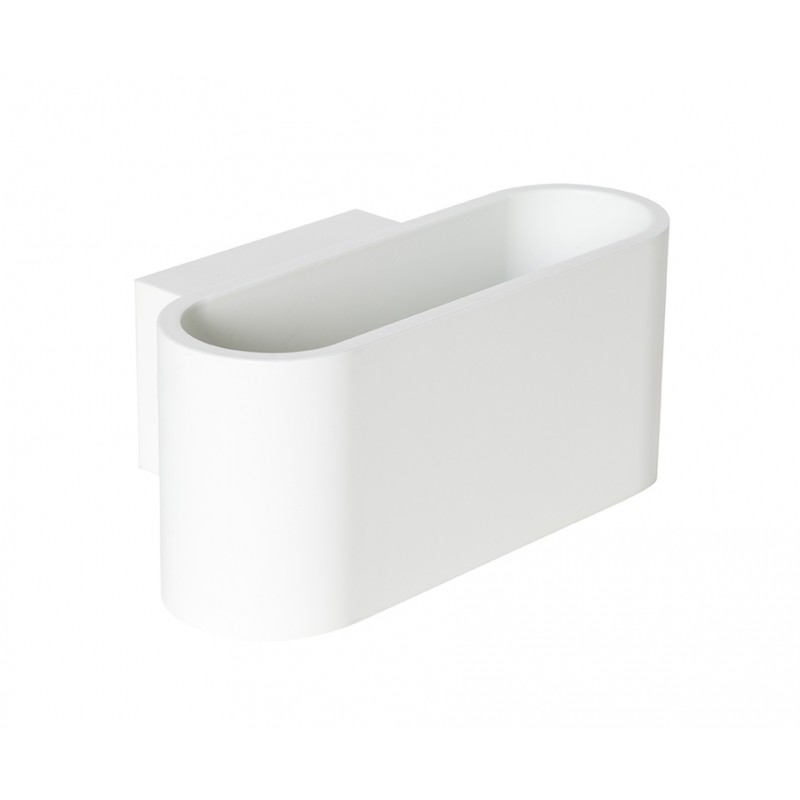 Cob Rowley Aplique 9W LED Aluminio blanco