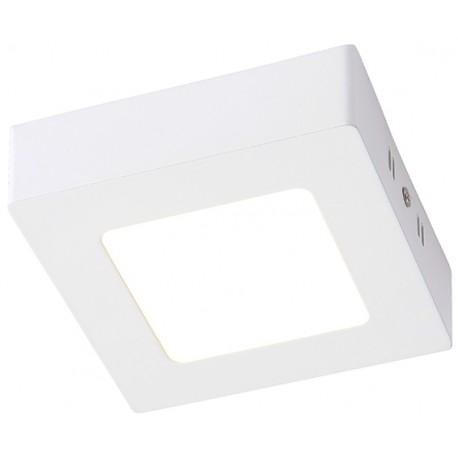 Square Slim Plafón blanco 6W 2700K