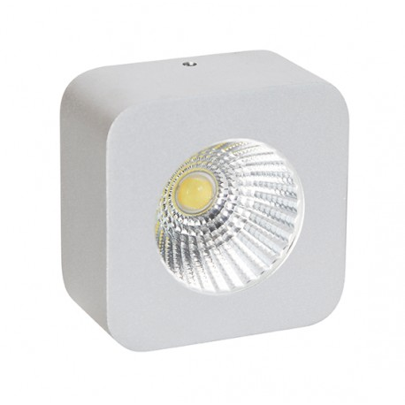 CobSurf Square 5W S Empotrable blanco 310 Lm 3000 k