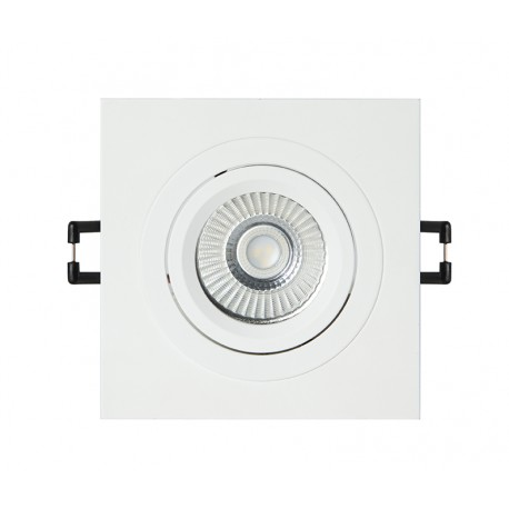 CobFix Mini Square 9W Empotrable blanco 450 Lm 2700 k
