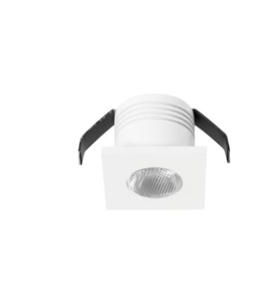 DotFix Micro Square 3W Empotrable blanco 170 Lm 3000 k