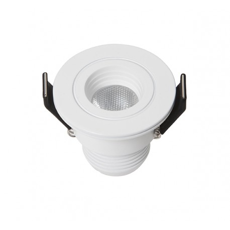 DotFix Micro Round 3W Recessed white 170 Lm 3000 k