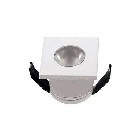 DotFix Micro Square 3W Empotrable blanco 170 Lm 4500 k