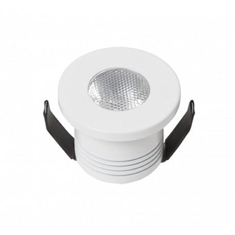 DotFix Micro Round 3W Empotrable blanco 170 Lm 4500 k
