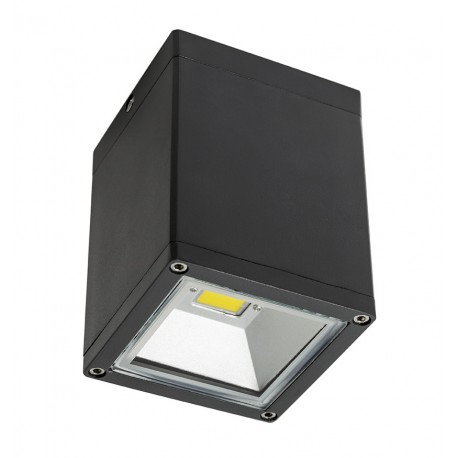 CobSurf Plafón Exterior Aluminio Cristal 5W IP54