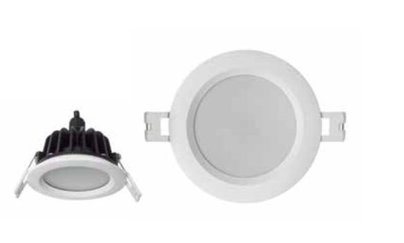 AquarumFix Empotrable Redondo Aluminio acrílico 7W IP65