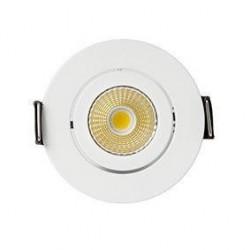 MiniDot Angle Round 5W Embutida branco 400 Lm 2700 k