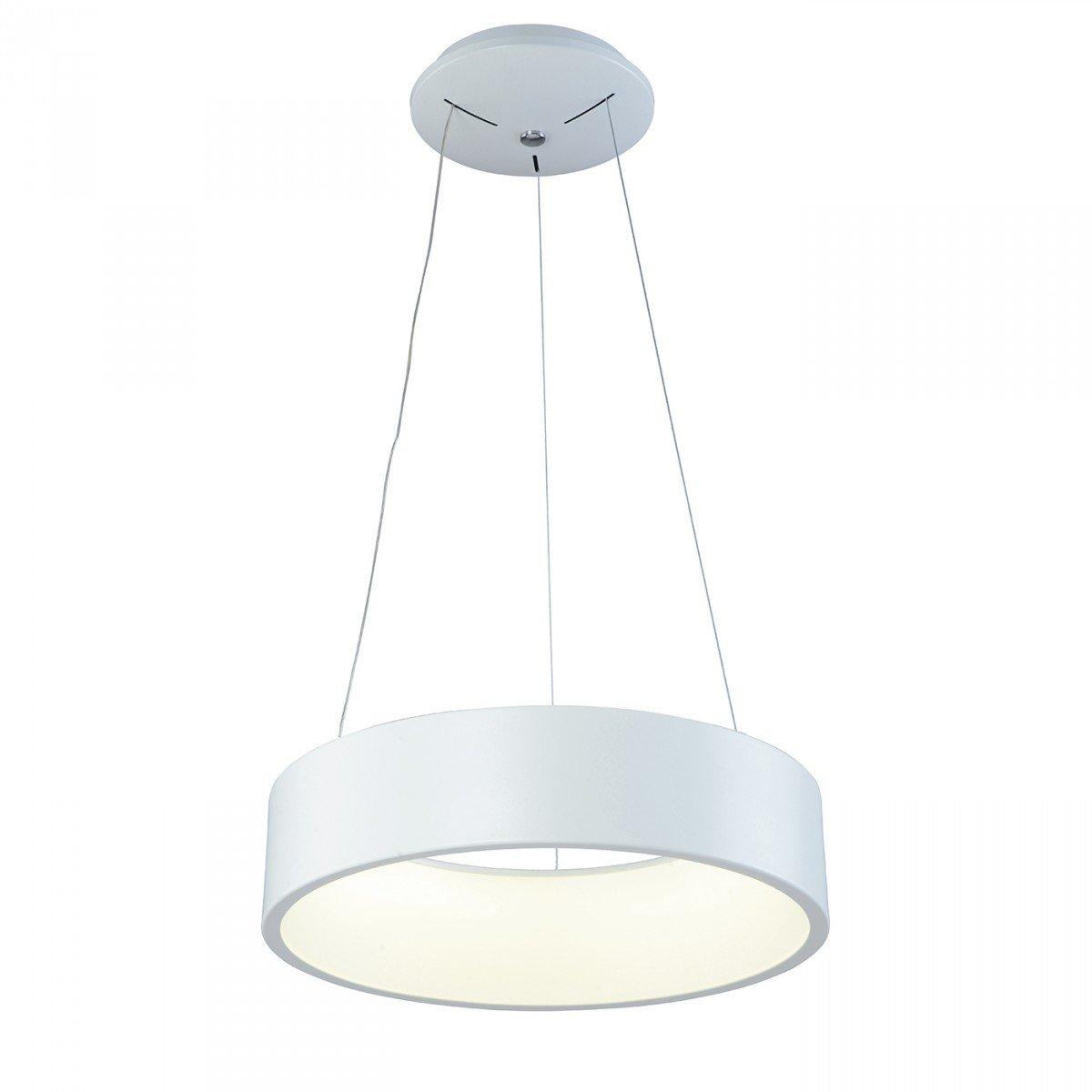 Hole Lámpara Colgante blanco 32W LED 45,5x120cm