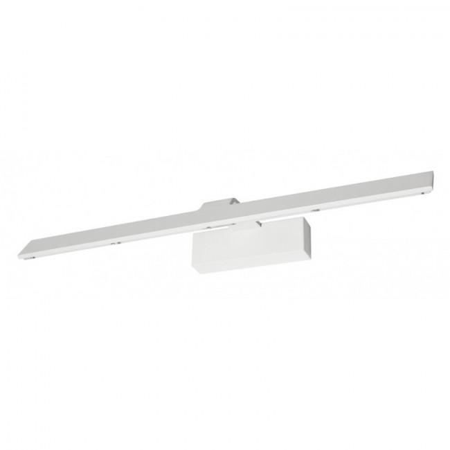 Iluminacuadros Aplique blanco rugoso LED 18W