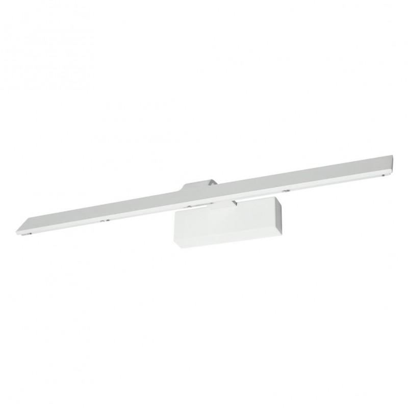 Iluminacuadros Aplique blanco rugoso LED 12W 38cm