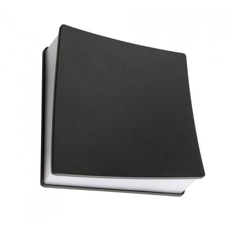 DrizzleFix Square Pequeño Aplique Exterior Aluminio acrílico 4W IP54