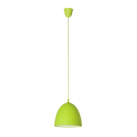Gummy Lámpara Colgante silicona Verde E27 60W