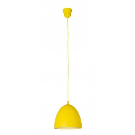 Gummy Lámpara Colgante silicona amarilla E27 60W