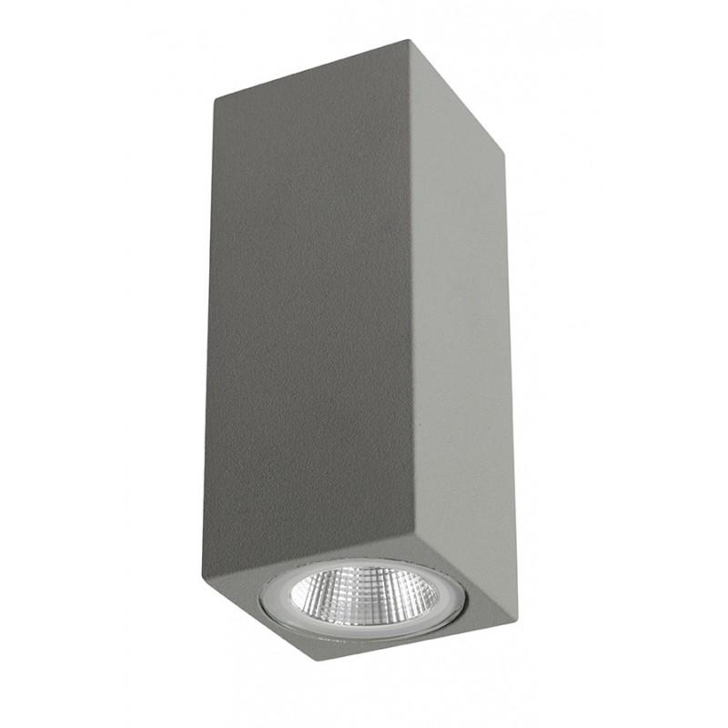 CobCherry Aplique Exterior Aluminio acrílico 2x5.5W IP54