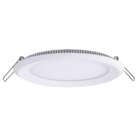 Aquarum Fix Round Empotrable Aluminio acrílico blanco 20W IP65
