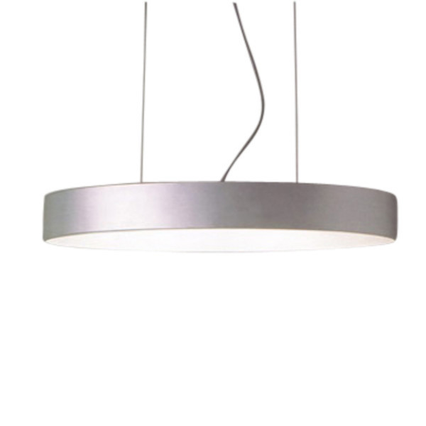 Hopper 70 oval Pendant Lamp Lacquered white