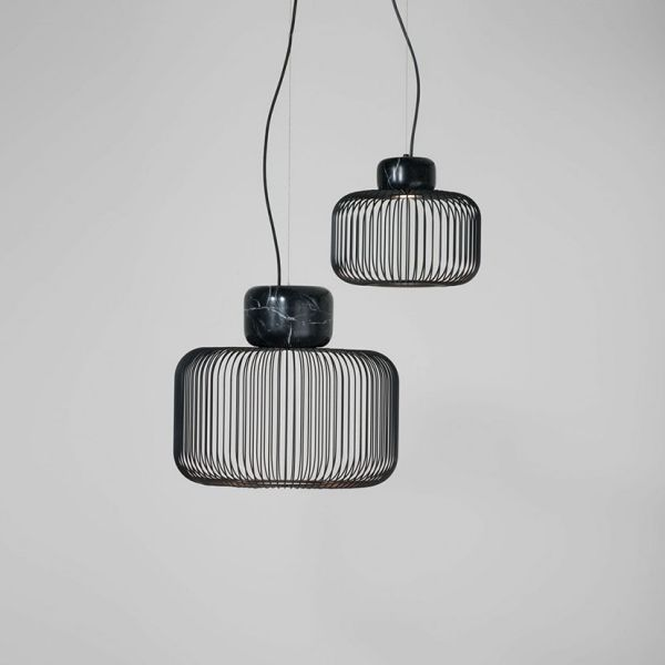Keshi S50 Lámpara Colgante LED 29,9W - negro mate