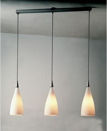 Nite S3 Lampe Suspension 3x11W E27 - Gris