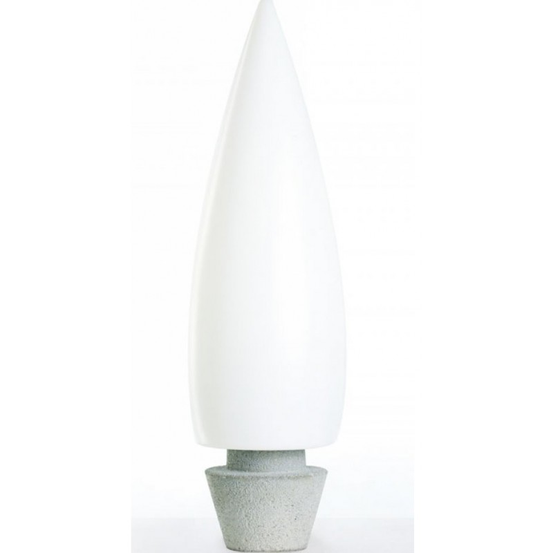 Kanpazar 80C Floor Lamp Outdoor LED 4x9,3W - white opal