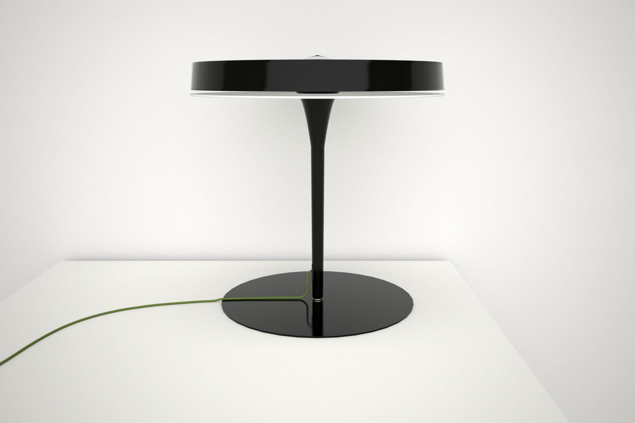 Olsen T Table Lamp 60W 2Gx13 - Black mate