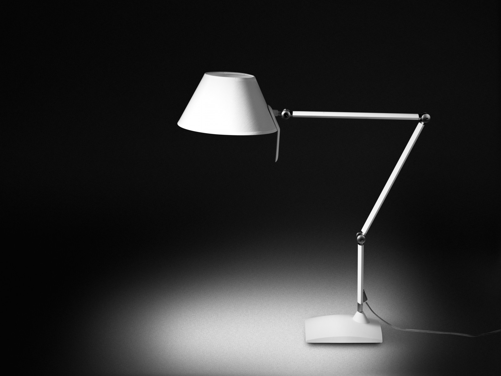 Petite 21 (Solo Structure) Table Lamp LED 6W (E14) - white