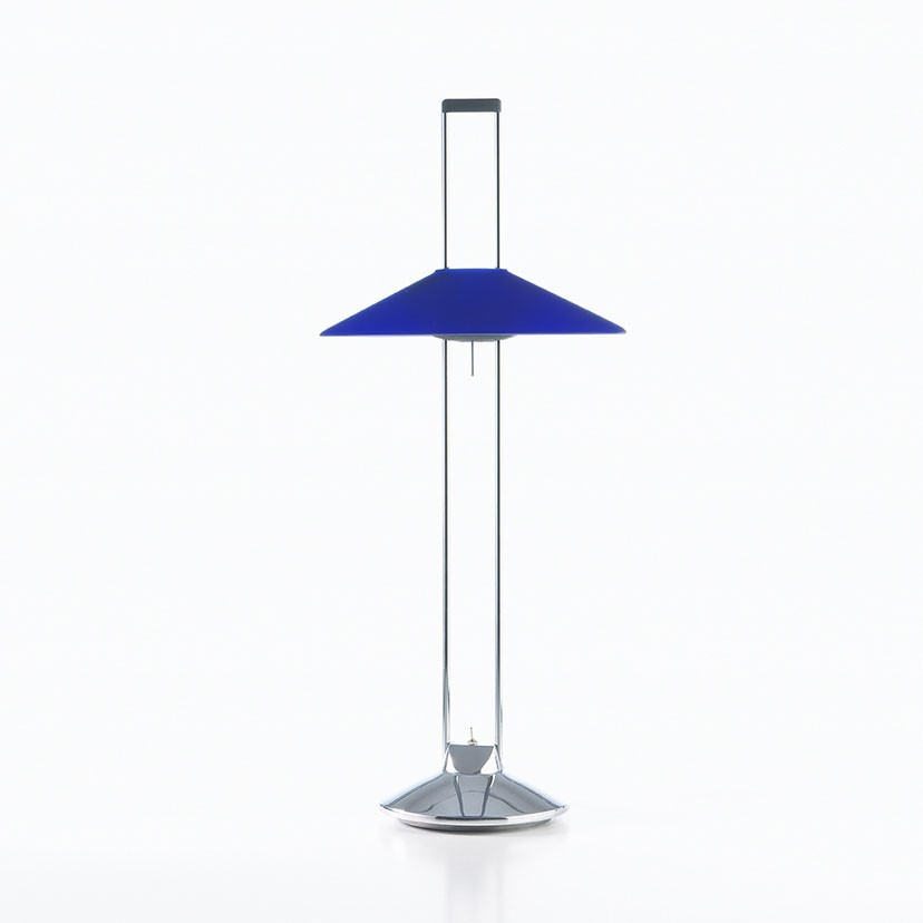Regina T Lampe de table LED 2x3,2W - Bleu
