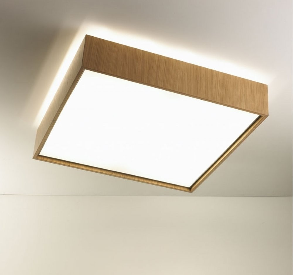 Quadrat C60x60 Plafón 4x24W (G5) - blanco