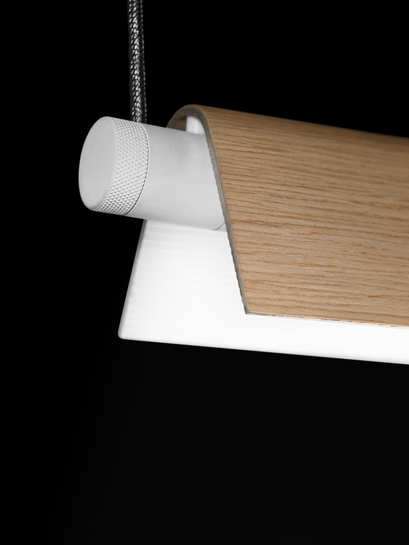 Roof S130 Lámpara Colgante 28/54W G5 -Blanco
