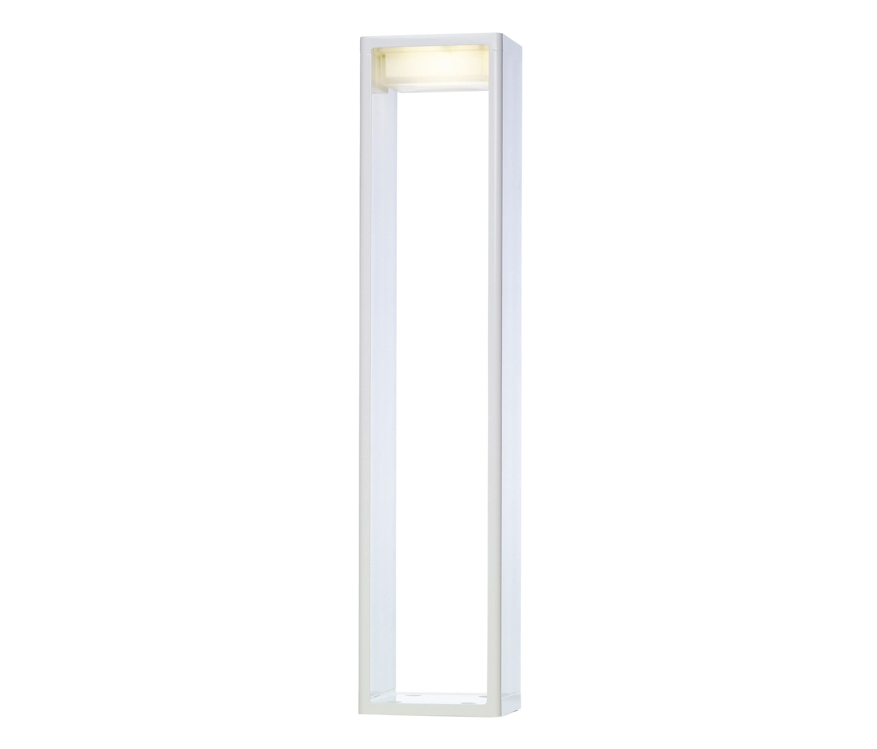 Frame L Baliza Exterior Fluo 2x7W G7 - Bronce