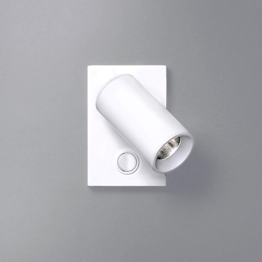 Tub LED aplique 1 L.LED 4W.BLANCO